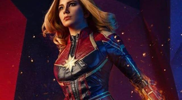 captain marvel costume